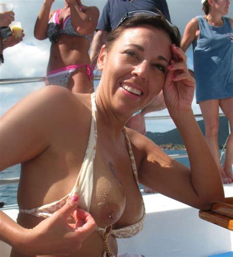 Pierced Nipple Milf Having Fun On Cruise Ship And