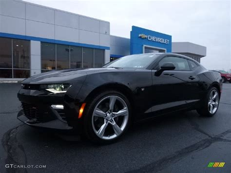 2016 Black Chevrolet Camaro Ss Coupe #109231825