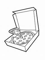 Pizza Box Pizzadoos Kleurplaat Colouring Leukekleurplaten Colour Kleurplaten Coloringpage Funghi Kolorowanka Coloring Ladnekolorowanki Kleur Check Slice Pizzę Pudełko sketch template
