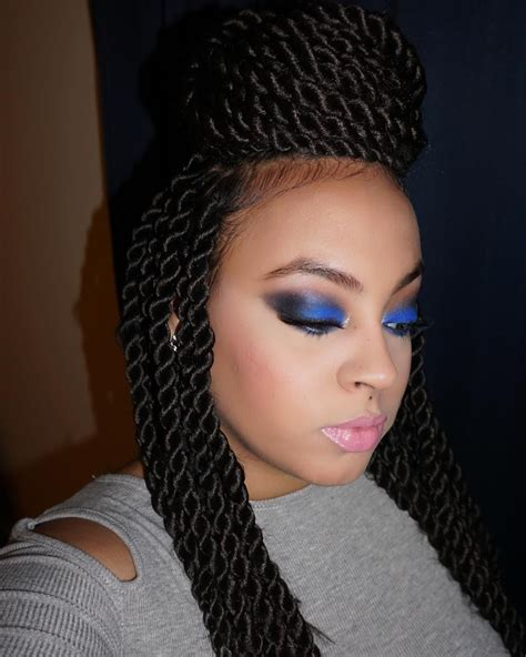 Different Hairstyles For Twists by 35 Gorgeous Senegalese Twist Styles Choose The Best