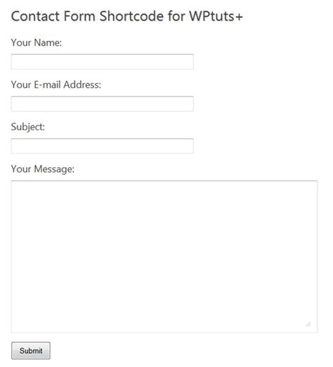simple contact form creating a simple contact form for simple needs