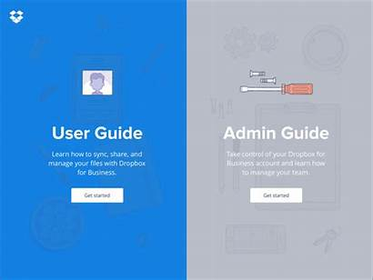 Dropbox Guide User Guides Users Animation Scrolling