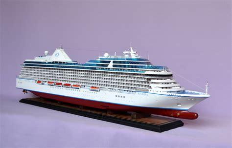 RIVIERA Cruise Ship Model