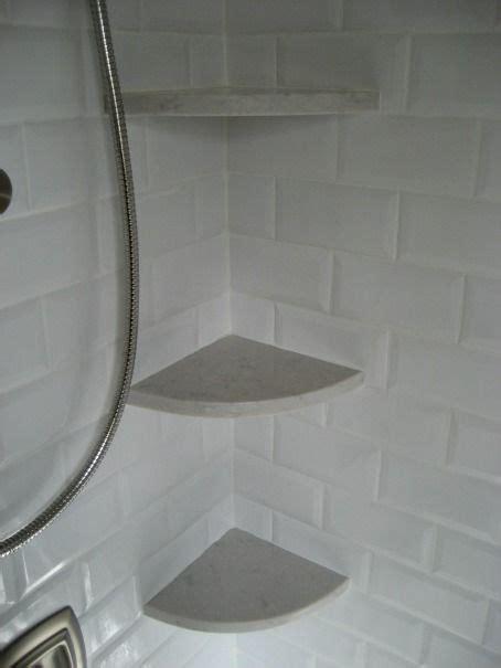 shower corner shelf marble silestone lagoon corner shelves for a shower the look of