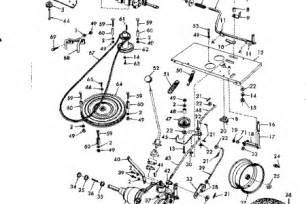 Craftsman Lt2000 Drive Belt Diagram by Craftsman Lt2000 Parts Diagram Periodic Tables