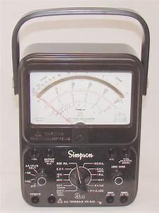 Simpson 260-8 - Volt - Ohm