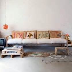 Wood Pallet Sofa by Diy Pallet Couch Attractive Addition For Living Room