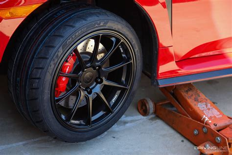 civic type   nt tire  titan  wheel swap