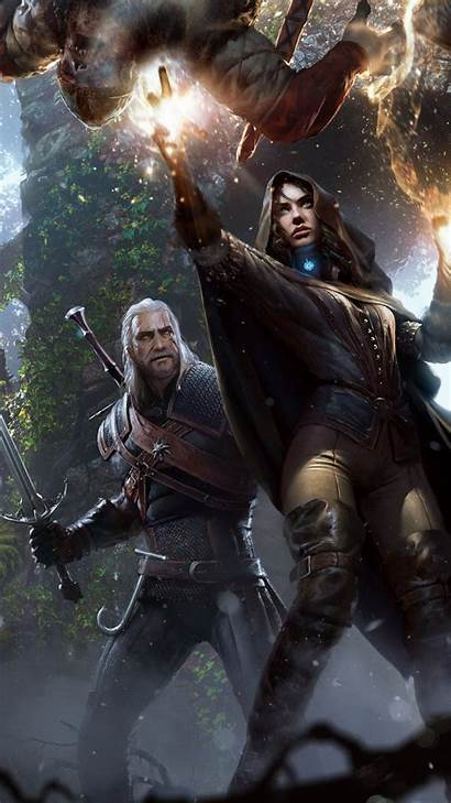 Witcher Wallpapers Android Sapkowski Geralt Andrzej He