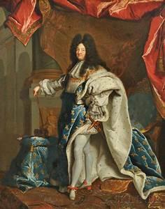 Louis 14 : studio of hyacinthe rigaud french 1659 1743 louis xiv sale number 2888b lot number 532 ~ Orissabook.com Haus und Dekorationen