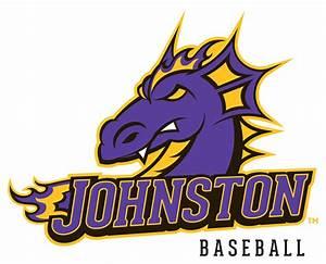 Johnston Athletics Johnston Baseball Logotype