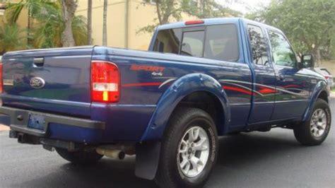 ford ranger xlt sport supercab sell used blue 2009 ford ranger sport 4x4 supercab xlt package 4 door in miami florida united