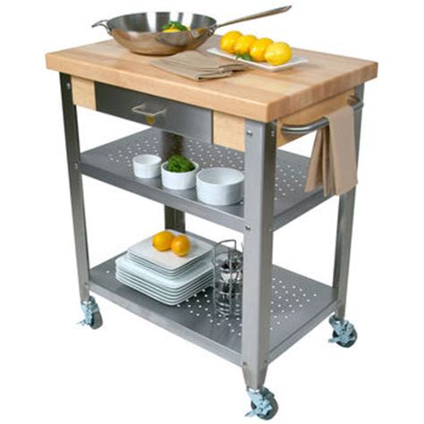stainless steel kitchen island with butcher block top kitchen carts kitchen islands work tables and butcher 9895