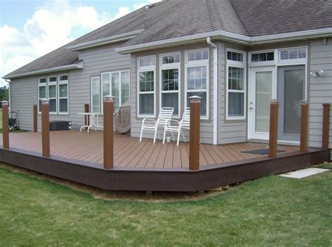 decks without railings design 1000 images about yard on pinterest patio decks and decking