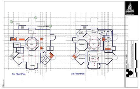 Disney Deck Plan Printable by Shanghai Disney Castle Plans Ed Flickr