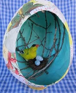 Comment Faire Un Oiseau En Papier : nid d39oiseau en assiette en carton t les printemps ~ Melissatoandfro.com Idées de Décoration