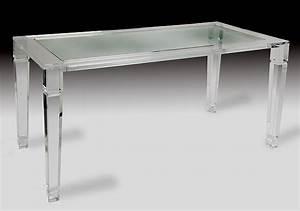 Table En Plexiglas : maximize your space with acrylic furniture ~ Teatrodelosmanantiales.com Idées de Décoration