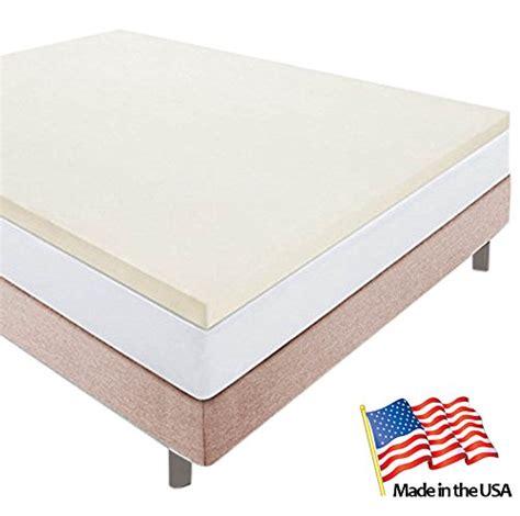 Us Mattress by Memory Foam Xl Mattress Topper Made In The Usa Xl
