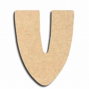 Lettre En Bois A Peindre : lettre en bois peindre v minuscule lettre bois ~ Dailycaller-alerts.com Idées de Décoration