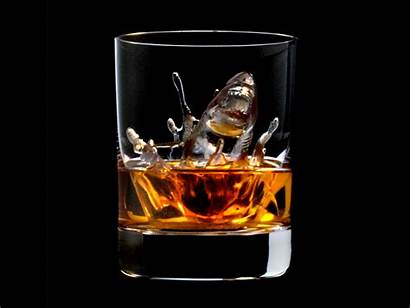 Whiskey Shark 3d Ice Rocks Printing Cubes