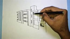 Architecture Commercial Building Drawing  2