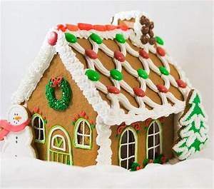 pictures of gingerbread houses slideshow With gingerbread house decorating ideas easy