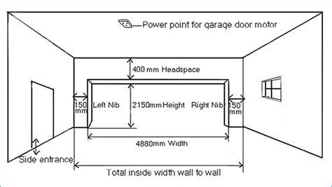 garage door height doors garage door dimensions