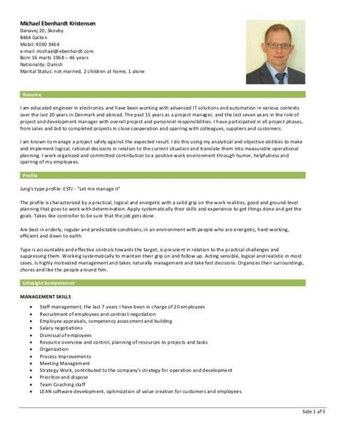 Uk Resume Or Cv by Curriculum Vitae Uk 14h