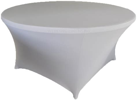 spandex table covers cheap 72 quot round silver spandex tablecloths covers