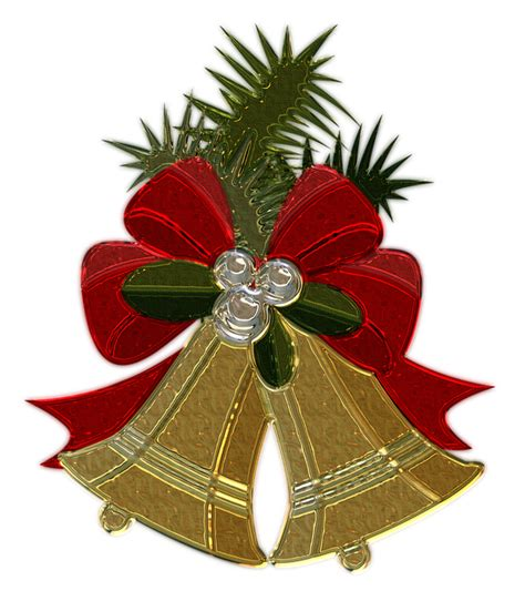 illustration christmas bells metallizer
