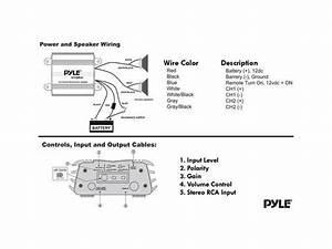 Pyle Amp Wiring Diagram