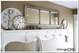 bathroom storage solutions diy door shelf finding home