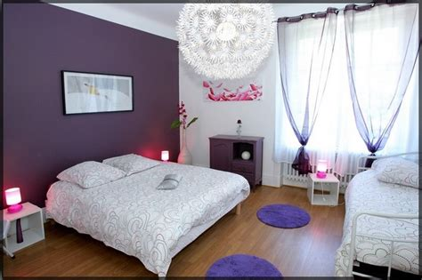 chambre violet et noir chambre mauve et noir design de maison