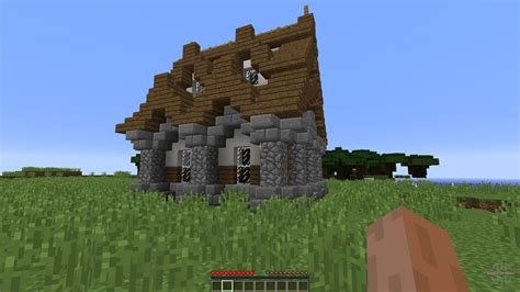 Medieval House New For Minecraft