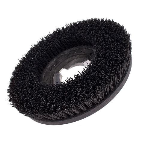 grit impregnated floor buffer brush
