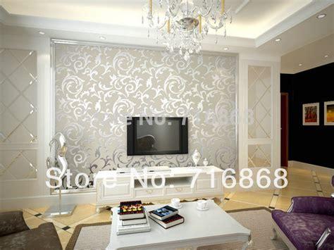 Living Room Feature Wall Wallpaper Com On Bedroom Design