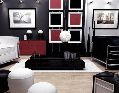 salon de la cuisine décoration bureau et noir