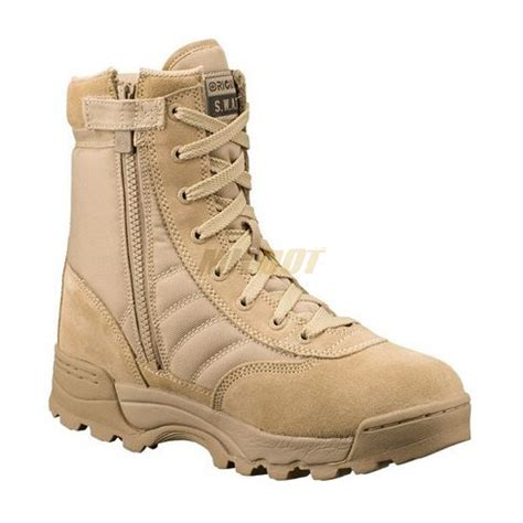 botas original swat classic  side zip arena