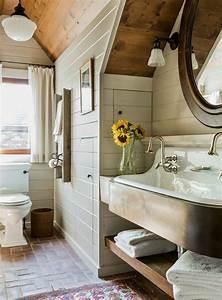 choisissez un joli lavabo retro pour votre salle de bain With porte de douche coulissante avec tapis salle de bain super absorbant