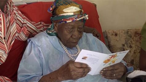 117 Year Old Jamaican Woman Says It Took Hard Work To
