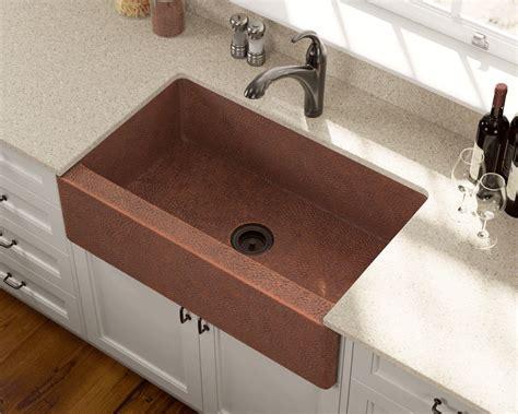 913 Single Bowl Copper Apron Sink