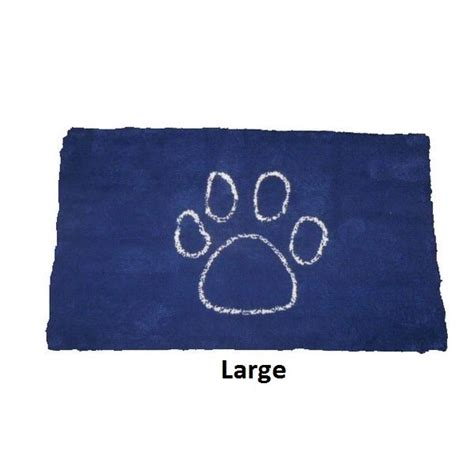 Pet Doormats by Large Absorbent Pet Doormat In Blue Buy Door