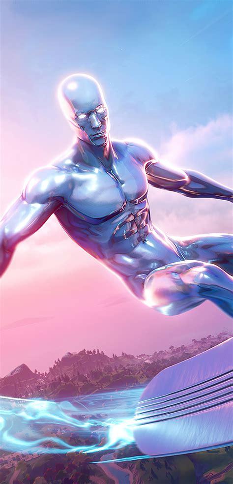1080x2244 Silver Surfer Fortnite Season 4 1080x2244