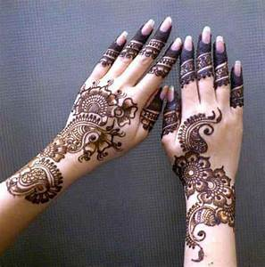 Arabic Mehndi Designs For Hands and Feet | Sizzling Glamour
