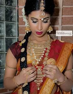 Traditional South Indian Tamil Bridal Wedding Hair Makeup ...