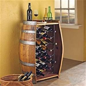 Rangement Bouteille De Vin : tonneau de rangement pour bouteille de vin avant j 39 tais riche ~ Teatrodelosmanantiales.com Idées de Décoration
