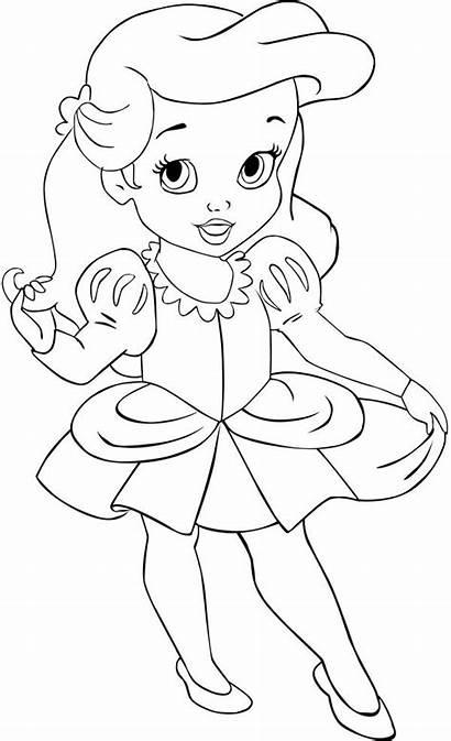 Ariel Coloring Princess Disney Rapunzel Deviantart Years