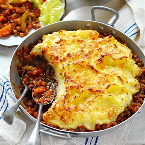 Cottage Pie Recipe by Vegetarian Cottage Pie Healthy Recipe Ww Australia