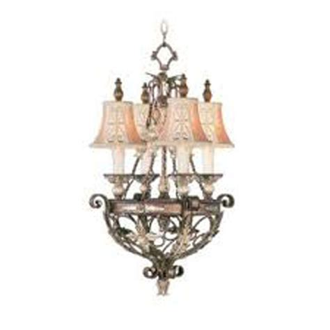 bronze chandelier with accents livex lighting providence 4 light palatial bronze