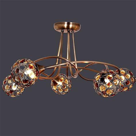 amber sphere 5 light ceiling fitting dunelm livingroom